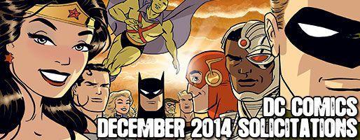 DC Comics Solicitations - On Sale Dec 2014