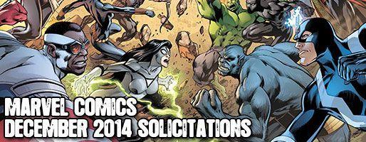 Marvel Comics Solicitations - On Sale Dec 2014