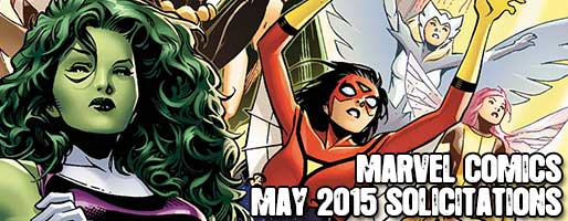 Marvel Comics Solicitations - On Sale May 2015