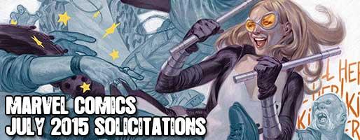 Marvel Comics Solicitations - On Sale Jul 2015