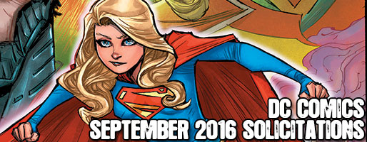 DC Comics Solicitations - On Sale Sep 2016