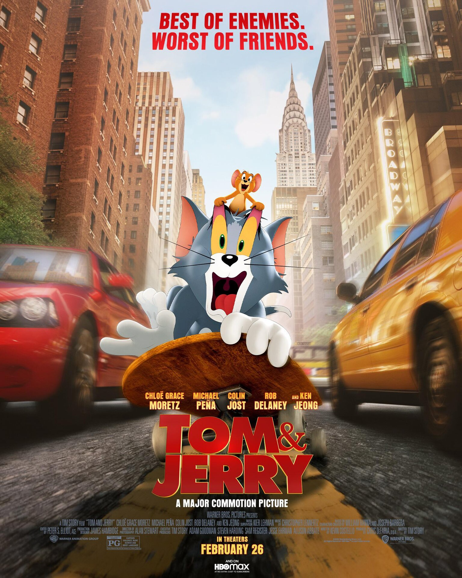 """""""Tom & Jerry (2021)"""" Feature Film News and Discussion ..."""