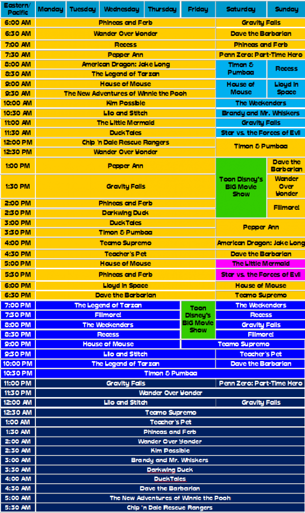 Fantasy Disney Xd Toon Disney Schedule Thread Page 2 Anime Superhero Forum The show centers on a tween fly named maggie pesky, who lives in the town of stickyfeet and dreams of becoming a rock star. fantasy disney xd toon disney schedule