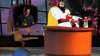 Steve Nash and Space Ghost - Vitamin Water commercial