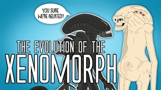 The Evolution Of The Xenomorph (Animated)