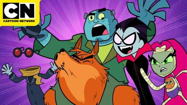 Teen Titans Animated TV Series - Free. - Cartoon Network