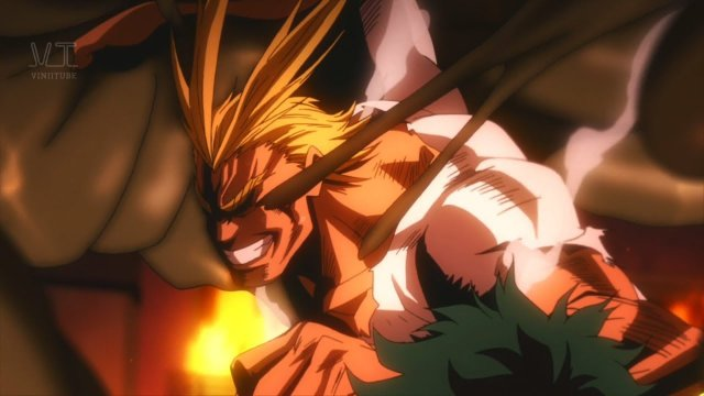 Top 5 All Might Moments [60FPS]