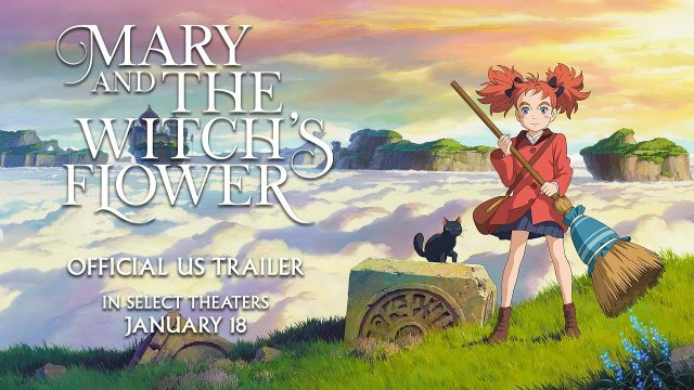 Mary and The Witch's Flower [Official US Trailer, Opens 1/18!]