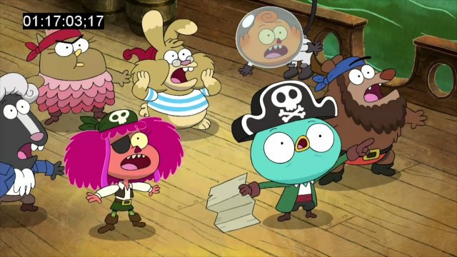 "Harvey Beaks | Pirate Theme from ""Squashbuckling"""