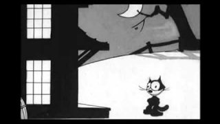 Felix The Cat (1927) - Halloween Switches Witches