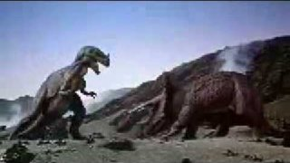 Ceratosaurus vs Triceratops from 1 Million Years BC