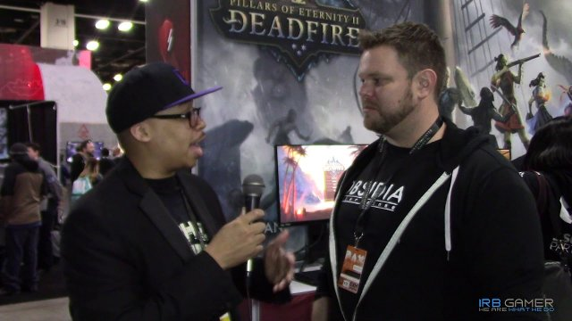 PAX South 2018 - Pillars of Eternity II: Deadfire Interview