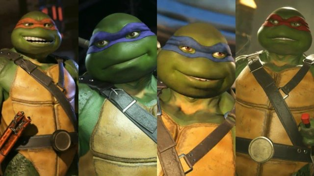 "Injustice 2 ""Teenage Mutant Ninja Turtles"" Gameplay Trailer"