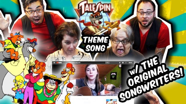 Talespin SONGWRITERS React to the Top 9 Theme Song Covers! | Band vs Internet | RKVC