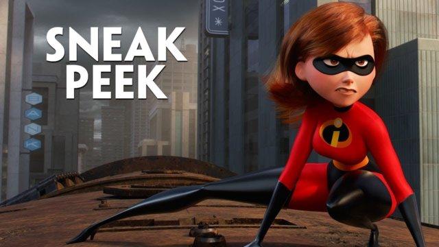 Incredibles 2 - Olympics Sneak Peek