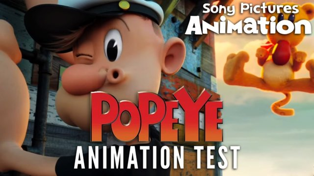 Genndy Tartakovsky's POPEYE Animation Test