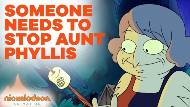 Someone Needs to Stop Aunt Phyllis | Nick Animated Shorts