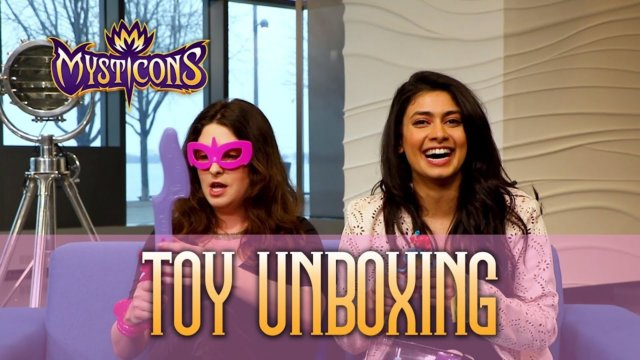Mysticons Cast Toy Unboxing | Em and Piper!