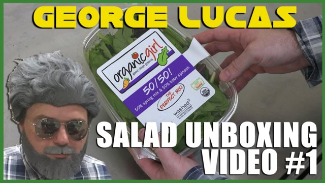 George Lucas Salad Unboxing Video #1