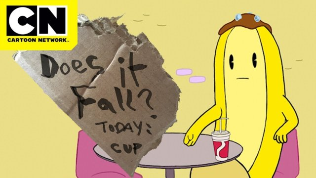 Does It Fall? | Cup of Soda | Adventure Time | CN Mini