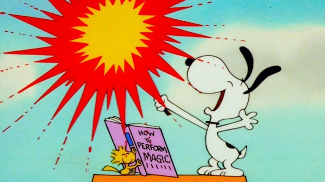 Snoopy | Magic with Snoopy | It's Magic, Charlie Brown | Kids Cartoon