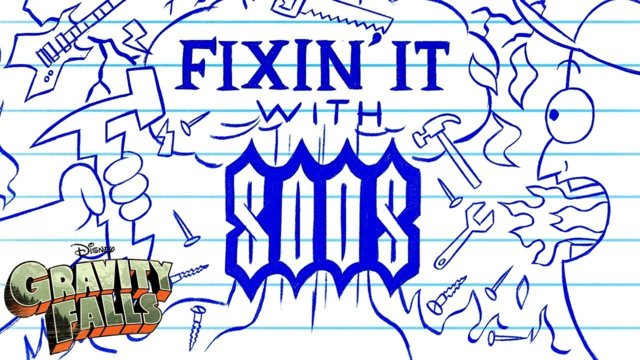 Fixin' it with Soos Supercut | Gravity Falls | Disney Channel