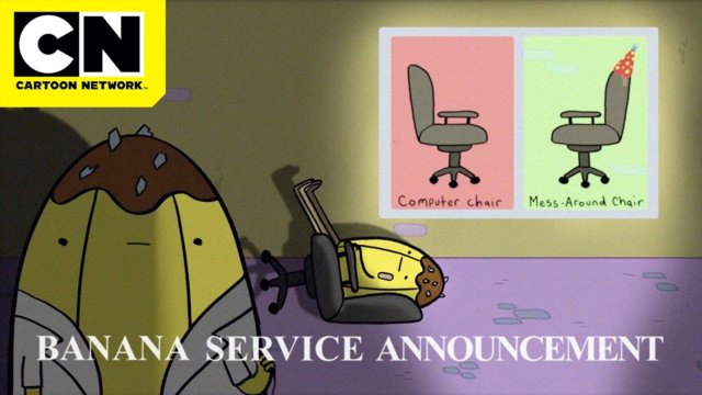 Banana Service Announcement | Know Your Chairs | Cartoon Network | CN Mini