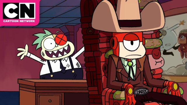 OK K.O. Let's Be Heroes   Lord Boxman Works For Darrell   Cartoon Network