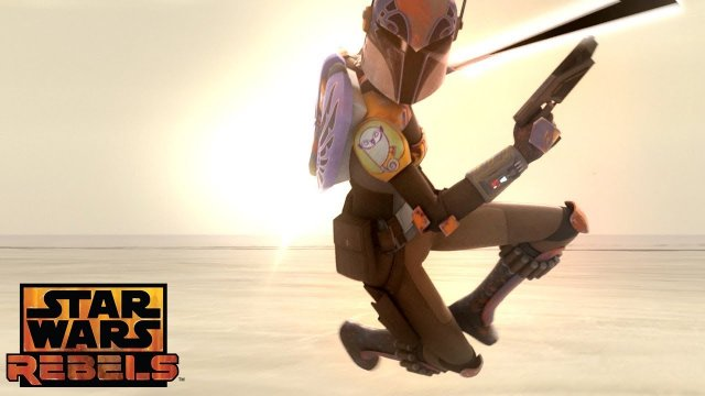 Heroes of Mandalore: The Attack Begins | Star Wars Rebels | Disney XD