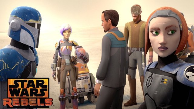 Heroes of Mandalore: The Weapon exists | Star Wars Rebels | Disney XD