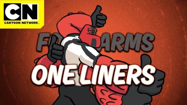 Ben 10 | Four Arms, One Liners: Garnet! | Cartoon Network | CN Mini