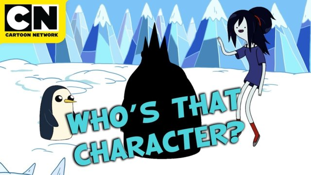 Who's That Character? | Adventure Time | Cartoon Network | CN Mini