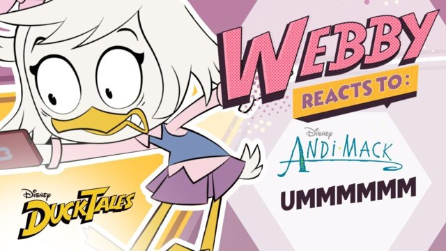 Webby Reacts To: Ummm | DuckTales | Disney Channel