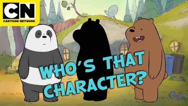 Who's That Character? | We Bare Bears | Cartoon Network | CN Mini