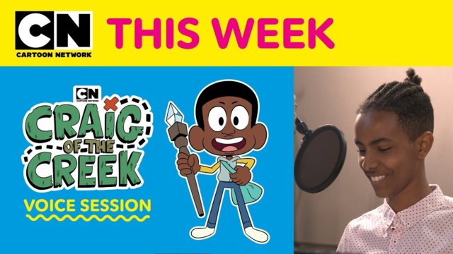 Craig of the Creek | Craig of the Creek Voice Session | Cartoon Network This Week