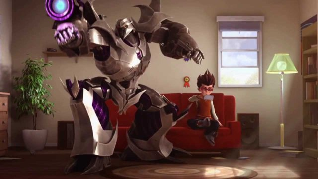Transformers Prime / Time Warner Commercial