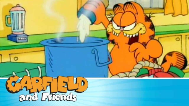 House of Yogurt - Garfield & Friends
