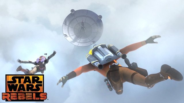 In the Name of the Rebellion: Assault Dive | Star Wars Rebels | Disney XD