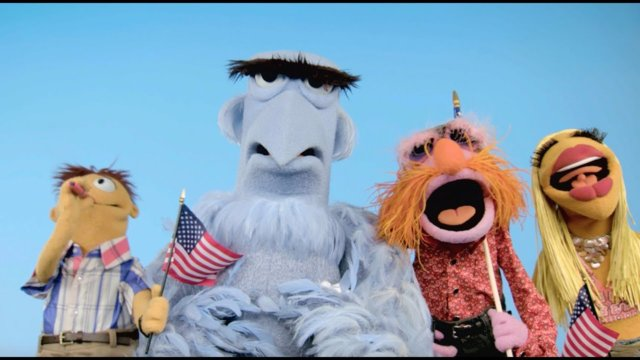 Happy 4th of July from Sam Eagle | The Muppets
