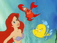 Ariel, Sebastian, and that other one