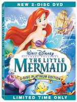 The Little Mermaid Platinum Edition DVD Box Art