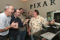 Just another day at the office at Pixar
