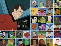 The many voices of James Doohan. This isn't even all of them.