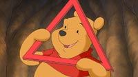 Pooh in Shapes and Sizes