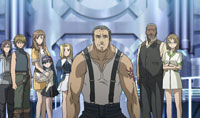 Most of the cast of Solty Rei.