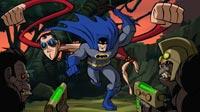Batman and Plastic Man take on Gorilla City