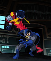 Batman and the Red Tornado