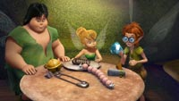 Bobble, Tinker Bell, and Clank
