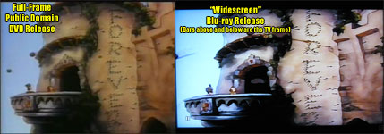 Old DVD release vs. new 'widescreen' Blu-ray