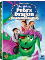 Pete's Dragon DVD box art